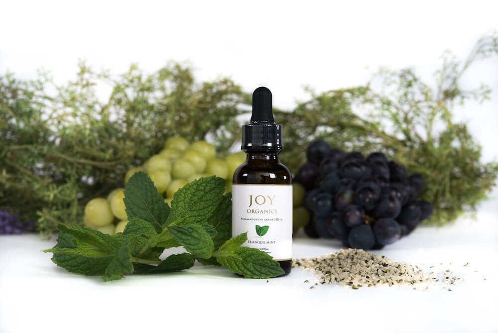 Joy Organics Tranquil Mint Full Spectrum Hemp CBD Oil Tincture