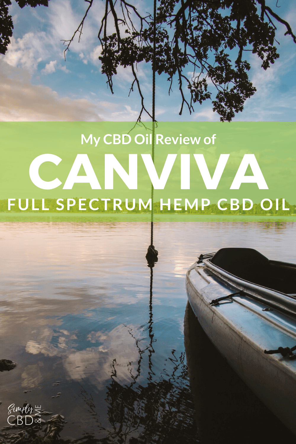My in-depth review of Canviva Full Spectrum CBD Oil - learn what I liked, didn't like and why you should try it!