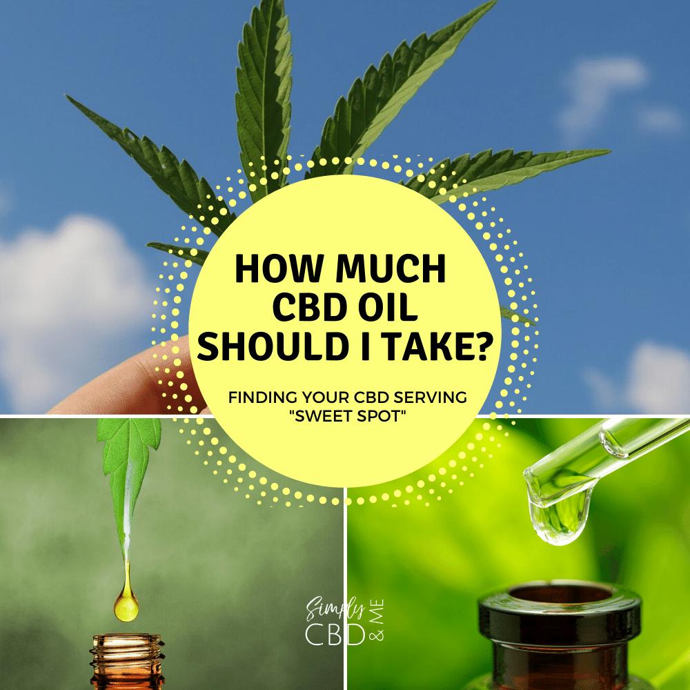 "How much CBD Oil should I take? How to Find your CBD Serving ""Sweet Spot"""